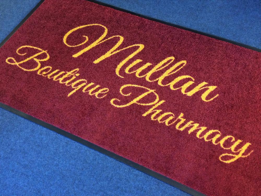Carpet Logo Mats u2013 LE Graphics