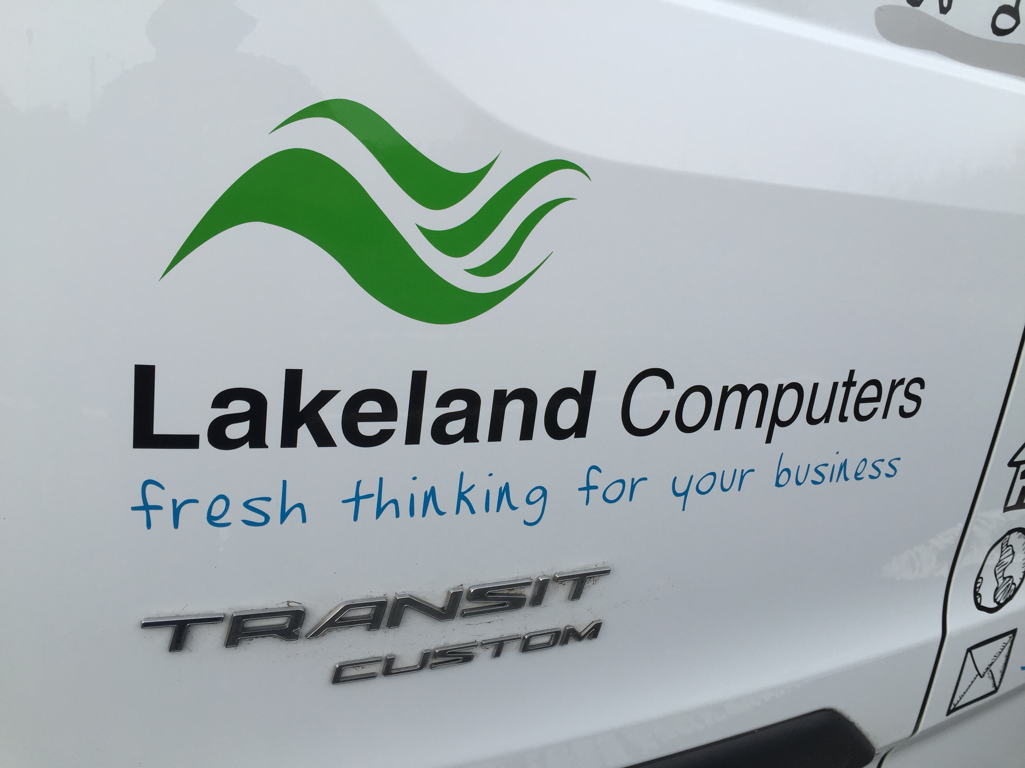 Vehicle Graphics For Lakeland Computers Le Graphics