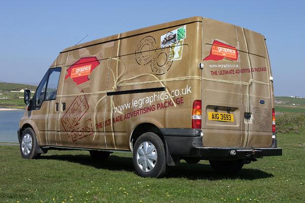 L.E. Graphics Transit Van