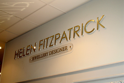 Helen Fitzpatrick at House of Fraser