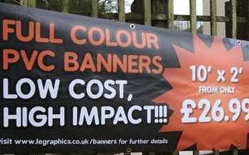 Full Colour PVC Advertising Banners