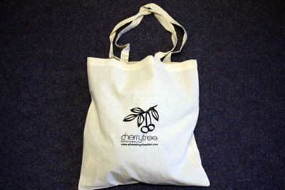 Custom Printed Canvas Shopping Tote Bag from L.E. Graphics