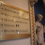 interior directional signs