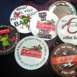Custom Made Button Badges