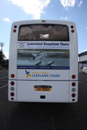 Lakeland Tours new coach livery by LE Graphics