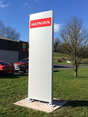 Totem Sign for Honda Power Equipment