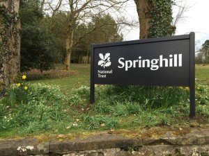 Springhill House National Trust Signs (6)
