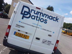 Drummack Patios Transit Van 01