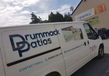 Drummack Patios Transit Van 014
