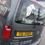 Animal Ambulance Graphics for Erne Veterinary 04