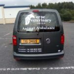 Animal Ambulance Graphics for Erne Veterinary 10