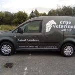 Animal Ambulance Graphics for Erne Veterinary 07